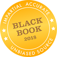Black Book's Impartial, accurate, unbiased source 2018 logo