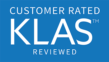 KLAS reviewed logo