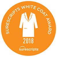 Surescripts White Coat Award 2018 logo