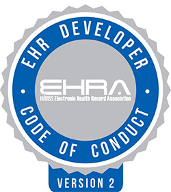 EHRA Code of Conduct logo